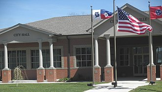 Lobelville, Tennessee - Lobelville City Hall and Library Building