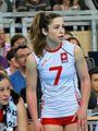 Tabea Dalliard - FIVB World Championship European Qualification Women Łódź January 2014.jpg