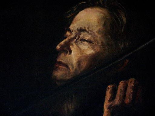 "Tablou George Enescu - Muzeul ""George Enescu"" din Dorohoi"