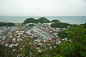 Su'ao - Image: Taiwan 2009 Su Hua Highway Su Ao Port FRD 6977