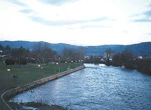 Tâmega (river) - The Tâmega as it passes through Chaves