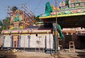 Thanjavur Nisumbasuthani Temple - Image: Tanjorevadabadrakali 3