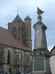 The church in Tannay