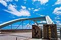 Taroko Bridge at noon in September.jpg