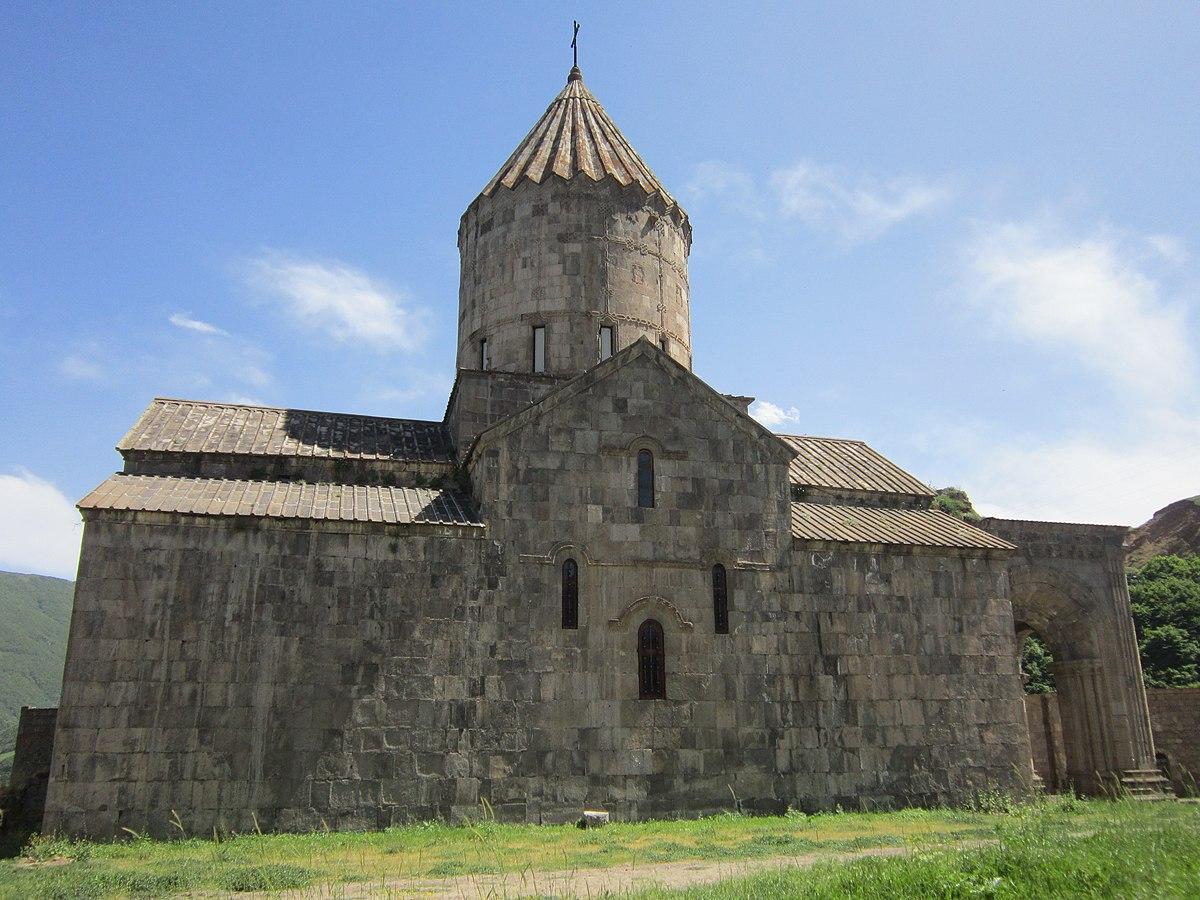Монастырь Татев в Сюнике. Армения
