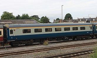 British Railways Mark 2 - Mark 2f First open in original British Rail livery