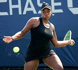 Taylor Townsend (tennis) - Image: Taylor Townsend tennis