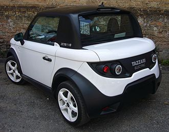 Tazzari Zero - Image: Tazzari Zero (rear quarter)
