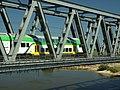 Tczew, vlak na železničním mostě II.JPG