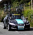 Team Sky Tour of Britain 2013 Moretonhampstead Support Car.JPG