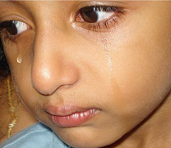 English: Tears , often at childhood days. മലയാ...