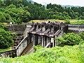 Tedorigawa II Dam left view.jpg