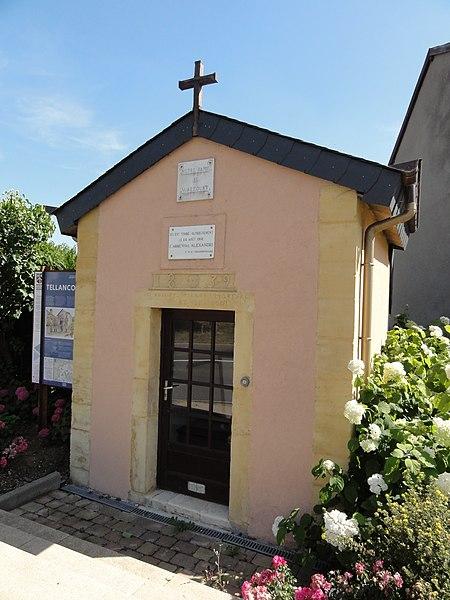 Tellancourt (Meurthe-et-M.) chapelle N.D. de Walcourt