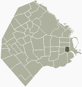 Telmo-Buenos Aires map.png