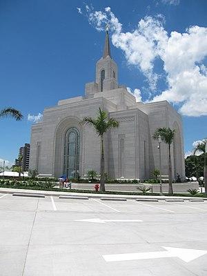 San Salvador El Salvador Temple - Image: Temple SUD of The Salvador