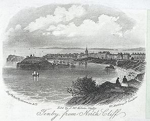 Tenby, from North Cliff