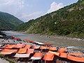Tents along the Jhelum river.jpg