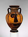 Terracotta Panathenaic prize amphora MET DP120000.jpg
