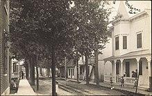 Carte postale de Terrebonne vers 1910
