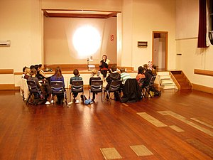 Tessa Laird writing workshop