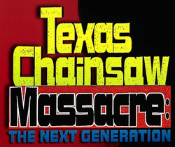 Texas Chainsaw Massacre - The Next Generation Logo.png