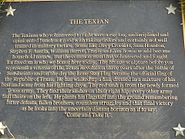 Texian Plaque