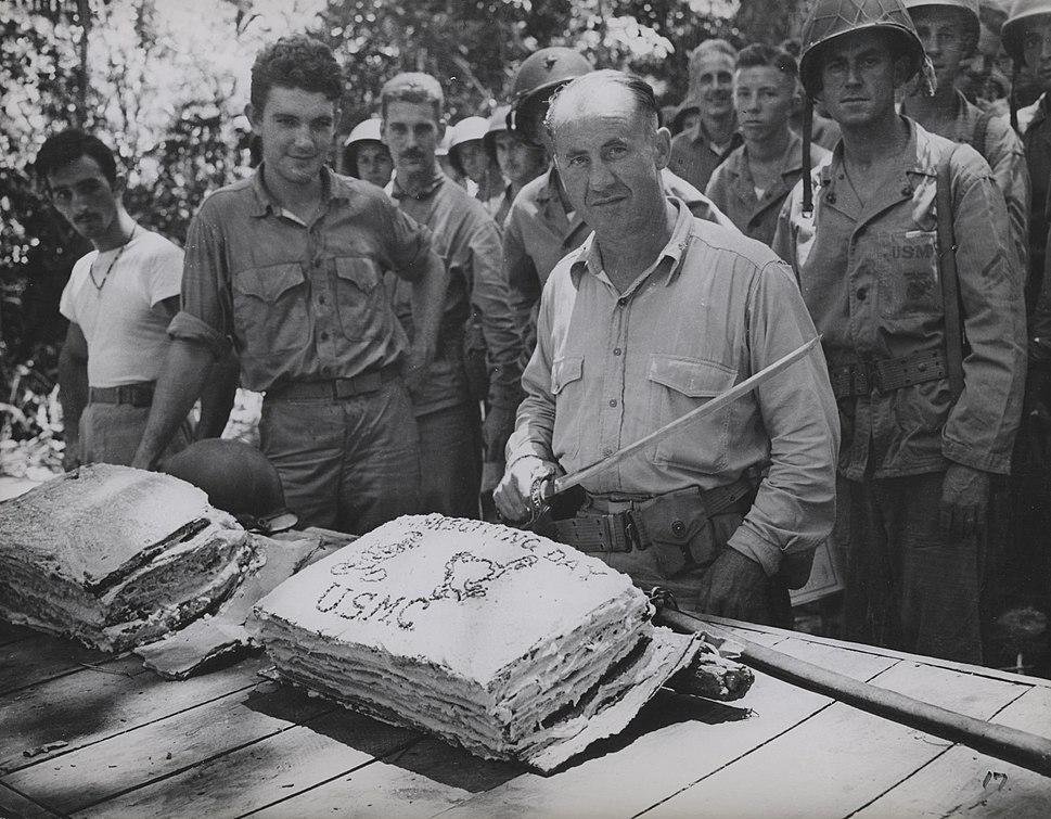 Thanksgiving Cake, Guadalcanal, 1942 (8161922801)