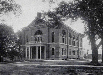 Thayer School of Engineering - Image: Thayer School of Engineering, early 1900s