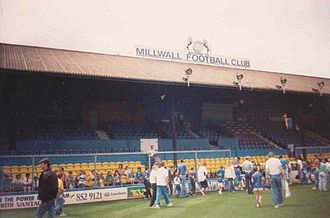 Millwall F.C. - A Junior Lions day at The Den in 1988.