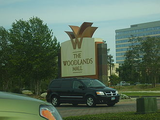 The Woodlands Mall - Image: The Woodlands Mall Entrance