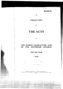 The Acts of the Indian Legislature and the Governor General for the year 1935.pdf