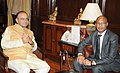 The Ambassador of South Africa to India, Mr. F.K. Morule meeting the Union Minister for Finance, Corporate Affairs and Defence, Shri Arun Jaitley, in New Delhi on November 03, 2014.jpg