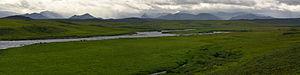 Anaktuvuk River - Image: The Anaktuvuk River flows North out of the Brooks Range. North Slope, Alaska