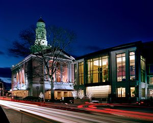 The Bushnell Center for the Performing Arts - Image: The Bushnell outside high res photo