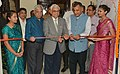 The Chief Election Commissioner, Shri O.P. Rawat inaugurating an exhibition, during the poll-preparedness review meeting, in Jaipur (Rajasthan).JPG