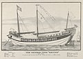 "The Chinese Junk ""Keying""–Captain Kellett–As she appeared in New York harbour July 13th, 1847–212 days from Canton.–720 tons burthen MET DP853638.jpg"