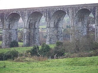 Belfast–Newry line - Image: The Craigmore Viaduct geograph.org.uk 1058107