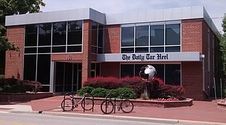 The Daily Tar Heel - The DTH office.