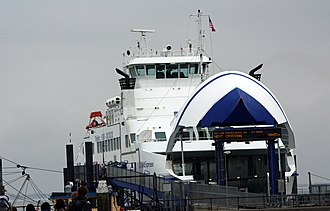 The Ghost Writer (film) - The North Sea ferry MS SyltExpress that was used as the Martha's Vineyard ferry in the film.