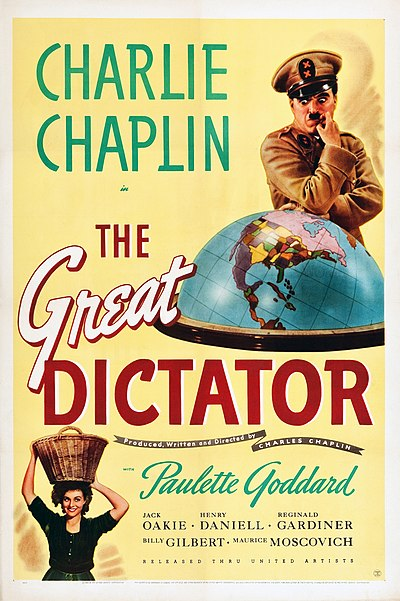 Picture of a movie: The Great Dictator