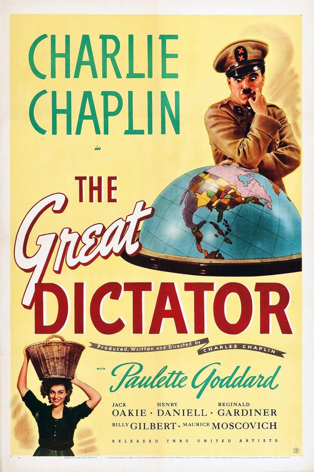 Chaplin an die menschheit deutsch rede charlie text Charlie Chaplins