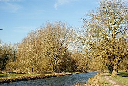 The Itchen Navigation, Winchester - geograph.org.uk - 1736970