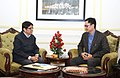 The Lt. Governor of Puducherry, Dr. Kiran Bedi calling on the Minister of State for Home Affairs, Shri Kiren Rijiju, in New Delhi on January 03, 2017.jpg