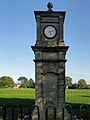 The Memorial Clock on the Recreation Ground, Eccles, Kent.jpg