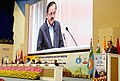 The Minister of State for Defence, Dr. Subhash Ramrao Bhamre addressing at the closing ceremony of World Congress of the International Committee of Military Medicine, in New Delhi on November 24, 2017.jpg