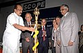 The Minister of State of Agriculture, Consumer Affairs, Food & Public Distribution, Prof. K.V. Thomas lighting the lamp to inaugurate the Conference of Presidents.jpg