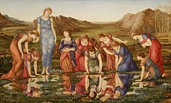 Edward Burne-Jones: The Mirror of Venus