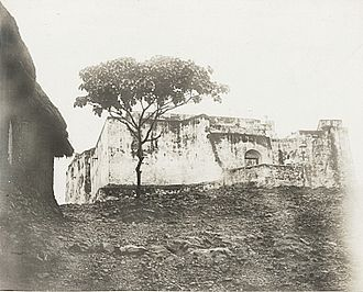 Fort Patience - Photograph of Fort Patience from the 1890s