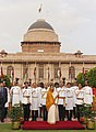 The President, Smt. Pratibha Patil at the 'At Home' function organised at Rashtrapati Bhavan on the occasion of the 61st Independence Day in New Delhi on August 15, 2007.jpg