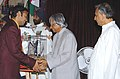 The President Dr. A.P.J. Abdul Kalam presenting the Arjuna Award -2005 to Shri Soumyadeep Roy for Table Tennis, at a glittering function in New Delhi on August 29, 2006.jpg